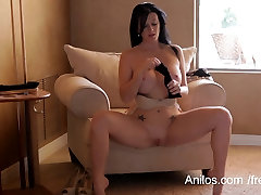 Licious Gia&039;s creamy cunt dripping with pleasure