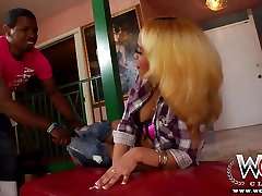 WCPClub blonde naughty american group girl with a gorgeous ass fucked by BBC