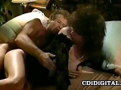 Aja - Wild Retro Milf Humping On Stranger&039;s Cock