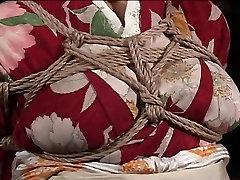 Japonijos MILF, kimono gauna sąlygotosios