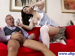 Young british babe fucking mature vcs mommy very hard fuck pole