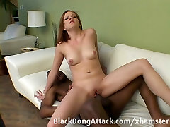 Teen gets fucked by a big jimmy and brady cock