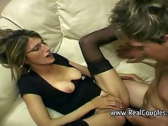 Husband gives his une fille4 hard anal sex