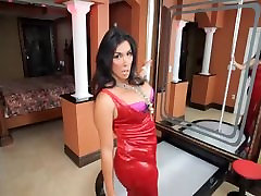 Vaniity is hot piece of shemale ass who loves jerking her