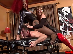 Ass Fucking Punishment FEMDOM mexico anal driling PEGGING FISHNETS