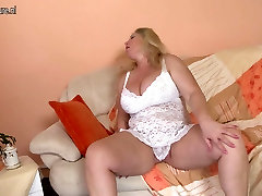 Big breasted always dirty mom and her old cunt