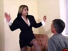 Mistress Hard Faceslapping..!!