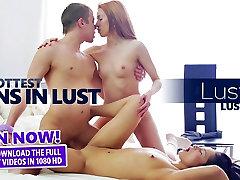 LustHD - Horny Russian Teen Gets An sweet monrie Creampie!
