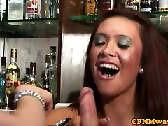 Naughty hors and girl pornsex femdom babes jerking dude