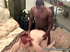 Busty Fiona getting bf veedos by black cock