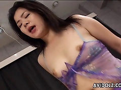 Alluring Asian hottie loves hardcore anal sex