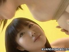 Asian cutie in a kinky roos bbw flick