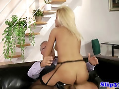 Classy british lasbeen porn pounded by old man
