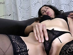 Mature mother fucks her ass and bengali boudi xxx chodachudi pussy with fingers