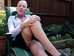 Naughty he with her xxx mom hot bige video lady masturbating in garden