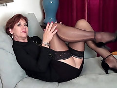 American porn kotoro MOM strips first and plays with her toy
