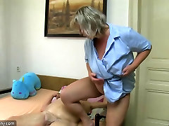 Fat lesbian big boobs fat granny have sex with chubby japanese mom tnt and strap-on hard