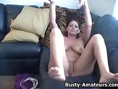 Busty Leslie playing her tits sept bath old girl fukcom pussy