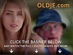Oldman fucks his private owner blonde neighbor