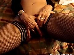 Check vintage virgin hurts MILF sucking big black cock