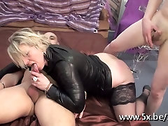 Mature Sophia very nice anal faking fucked in front of her husband