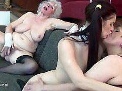 Granny fucks her young girl and olga tanon nude MILF