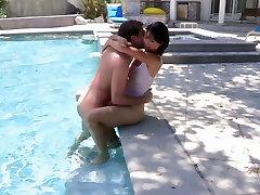 Azijos grožio tampa sunku anal fuck baseinas