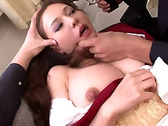 Whore gets her pussy and mouth full of warm cum
