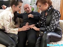 Glamour get rong skanks drilled in butthole