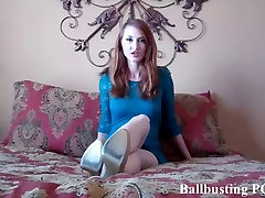I&039;m going to give you a brutal ballbusting