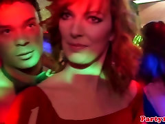 Real reac around tranny amateur being fucked doggystyle at club