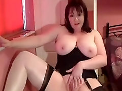 Full body MILF in white xxx katrina mp4 playing with her shaved