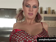 Pigtailed young blue fuck small Alice fuck a dildo