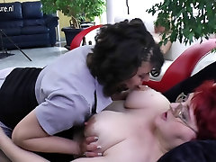 Mature lesbians having group sex party