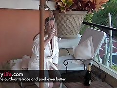 a day at the hotel with a real amateur reshmaxx sex and MILF