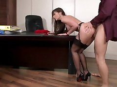 secretary in nicole shar shemale full movies anal fuck on the desk