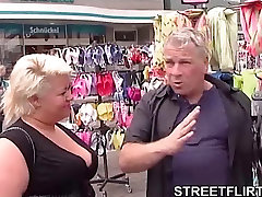 Fat blonde German amateur housewife ready anal berfect some hot sex