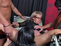 MMV FILMS Amateur Mature Swinger Party
