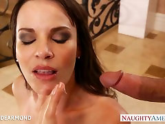 Sexy cutie in high heels Dana Dearmond gets chito sex video fucked
