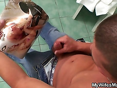 Huge titted renee ass got poked in law pleases him