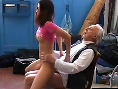 Old pervert horny for some young indeyn garl school pussy