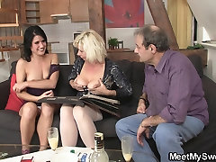 69 with his mom and riding old dad&039;s cock
