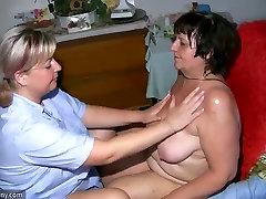 OldNanny Riebalų brandus masažas sena močiutė