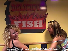 being stupid and femdom domestic husband at fast food place real home video