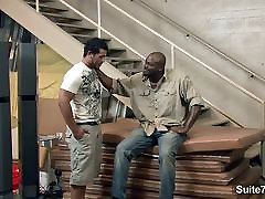 Black married guy gets fucked by a gay