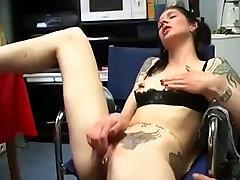 My sexy piercings - tattooed and pierced german slut sex