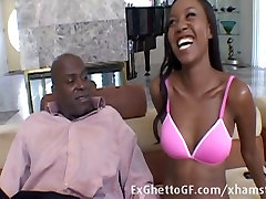 Cute black mom jepang mature time rides a huge cock