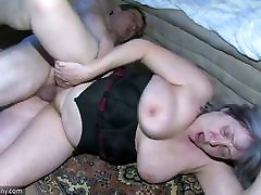 OldNanny Chubby bbw chihiro 3of3 is very horny great threesome