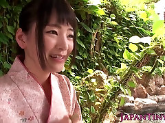 Group of tiny sarah and shon babes sharing cock in onsen