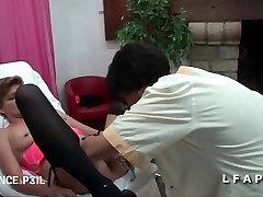 FFM Brandus step sex sons by mom francaise pluggee et fistee chez le gyneco
